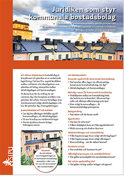 U3338 01 juridiken som styr kommunala bostadsbolag thumb