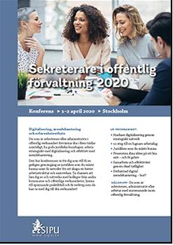 K1003 01 sekreterare i offentlig forvaltning 2020 thumb